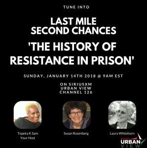Last Mile Second Chances SiriusXM radio show, 2nd episode